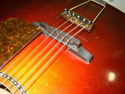 ebony archtop guitar bridge. Black Bedroom Furniture Sets. Home Design Ideas